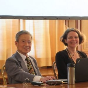 Dr. Feng Shi-Lun and Dr. Suzanne Robidoux