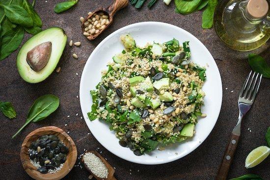 WildFit Quinoa Salad at Freya Sherlock WildFit Programme